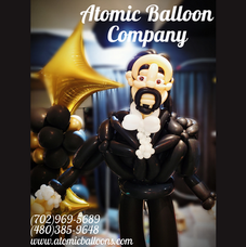 Hamilton Balloon Sculpture Large