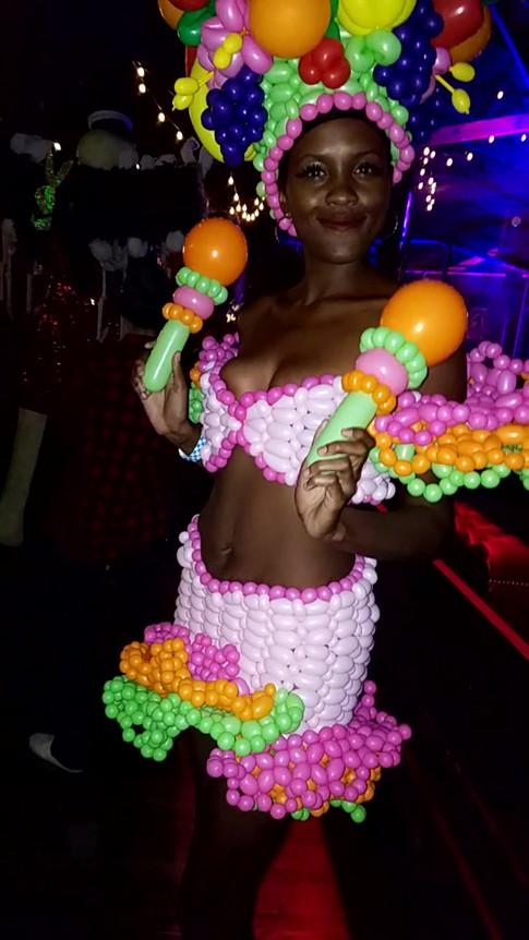 Carmen Miranda Halloween Dress Costume