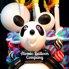 Birthday Panda Balloon Sculptures