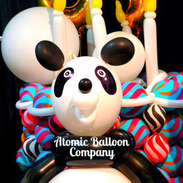 Birthday Panda Balloon Sculptures