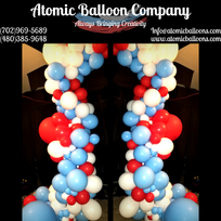 Dr. Seuss Themed Balloon Decor