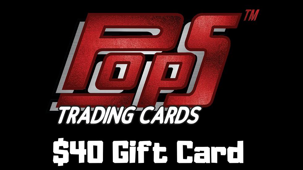 POPS $40 Gift Card