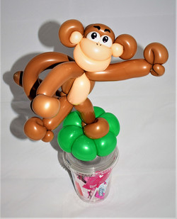 Monkey Candy Cup Party Favor