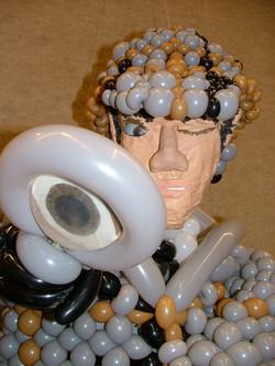 Sherlock Holmes Balloon Sculpture