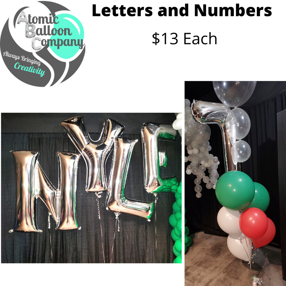 Letter and Number Pricing