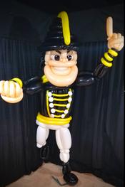 Lifesized Mascot Balloon Sculpture