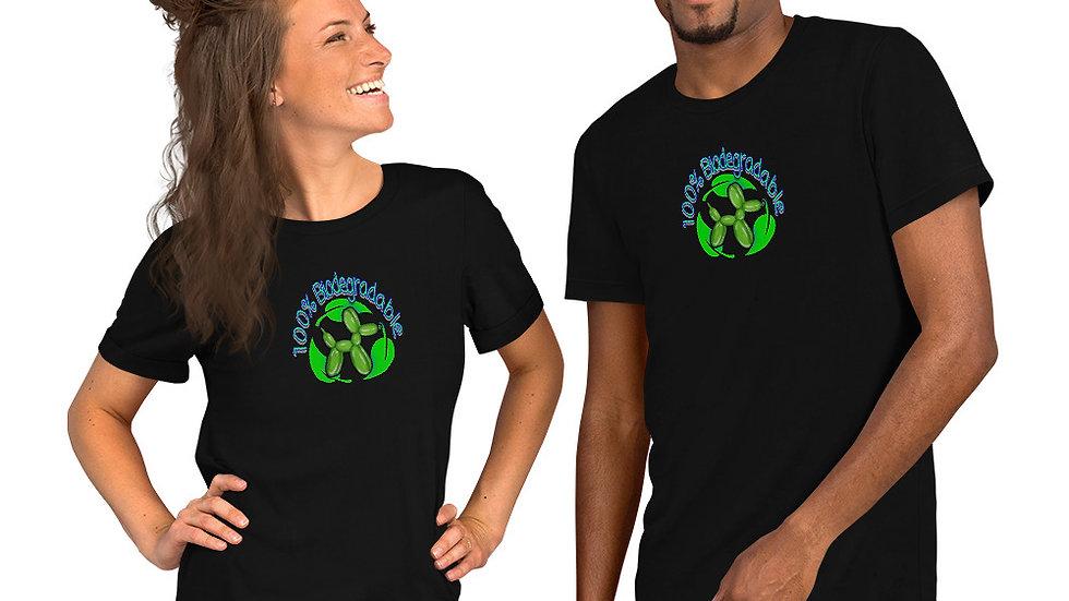 100% BIODEGRADABLE Short-Sleeve Unisex T-Shirt
