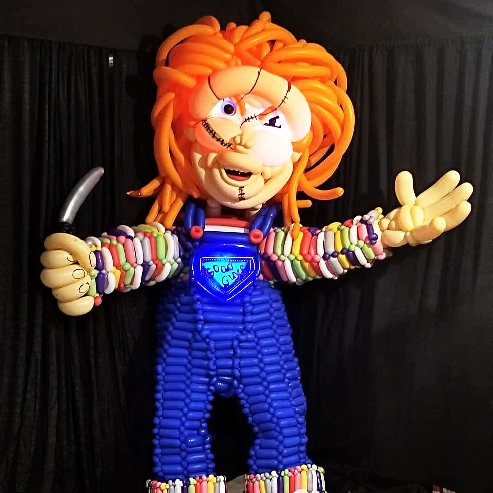 Chucky Balloon Costume