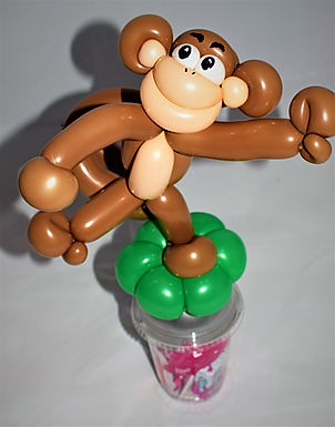 Monkey Balloon Candy Cup