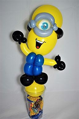 Minion Balloon Candy Cup