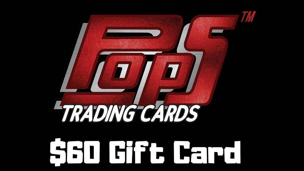 POPS $60 Gift Card