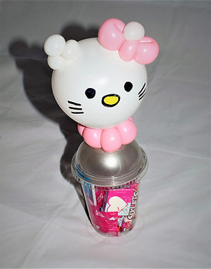 Hello Kitty Balloon Candy Cup