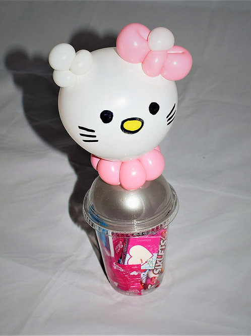 Hello Kitty Balloon Candy Cup