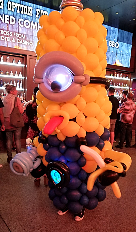 Minion Balloon Costume