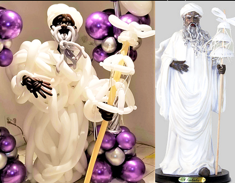 Large Balloon Display Sculpture