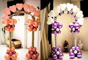 Heart Balloon Arch Decor