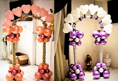 Heart Balloon Arch Decor