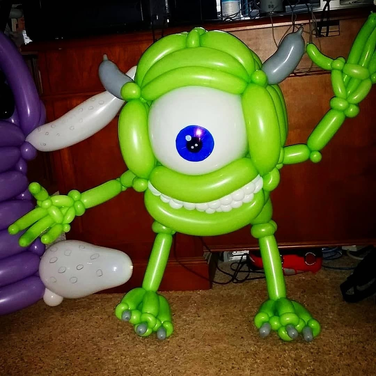 Monsters Inc Party Balloon