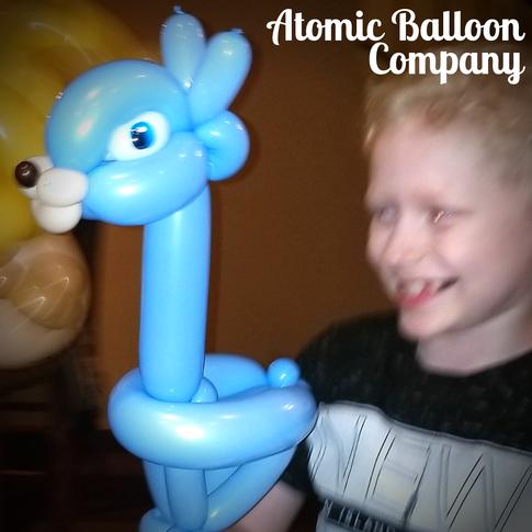 Llama Party Balloon
