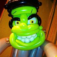 Frankenstein Balloon Sculpture