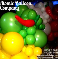Fiesta Organic Balloon Arch