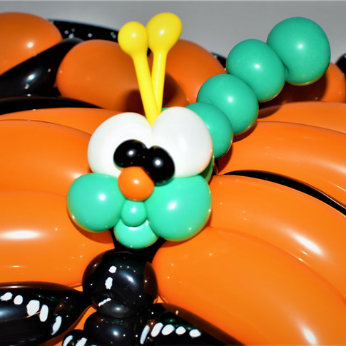 Caterpillar Party Balloon