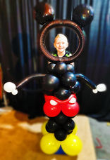Micky Mouse Photo Opp Balloon Column