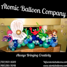 Under the Sea Baby Shower Balloon Decor