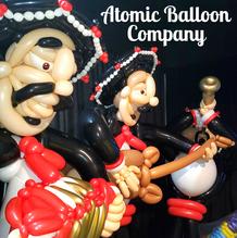 Mariachi Party Balloon Sculptures