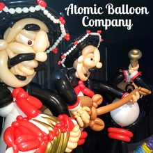 Mariachi Party Balloon Sculptures