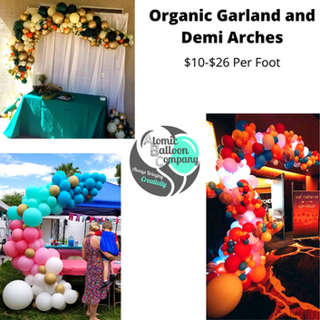 Organic Garland and Demi Arches