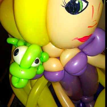 Princess and the Frog Balloon