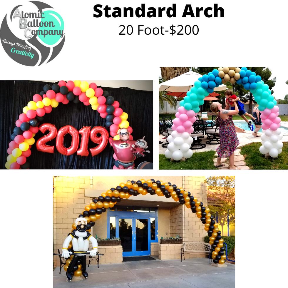Standard Arch Pricing
