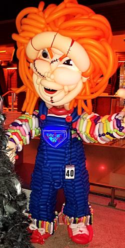 Oversized Chucky Balloon Costume