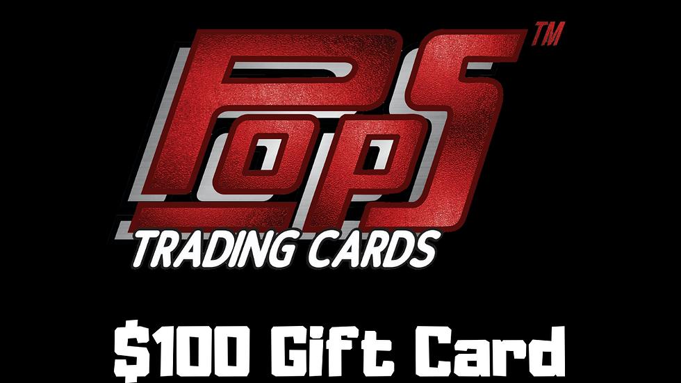 POPS $100 Gift Card
