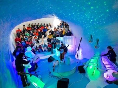 Ледяной оркестр из Швеции