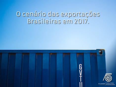 Exportações Brasileiras em 2017