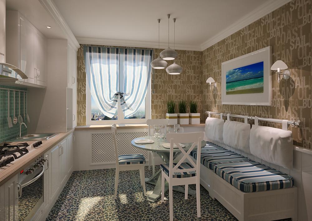 Морской стиль | блог | Alvaline | кухни | Москва