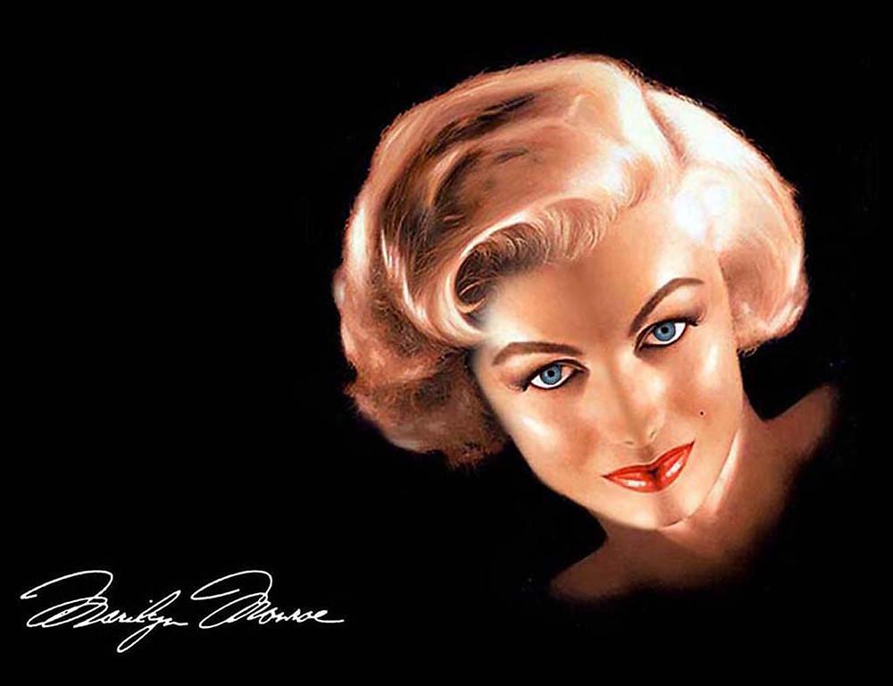 Портрет Мерлин Монро #купитькухню