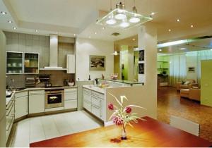 10 идей для освещения кухни