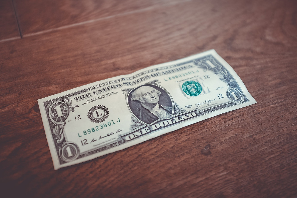 Nota de 1 dólar