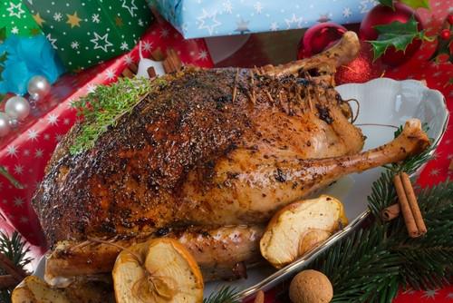 Рождественский гусь_рецепты #купить_кухню_Alvaline