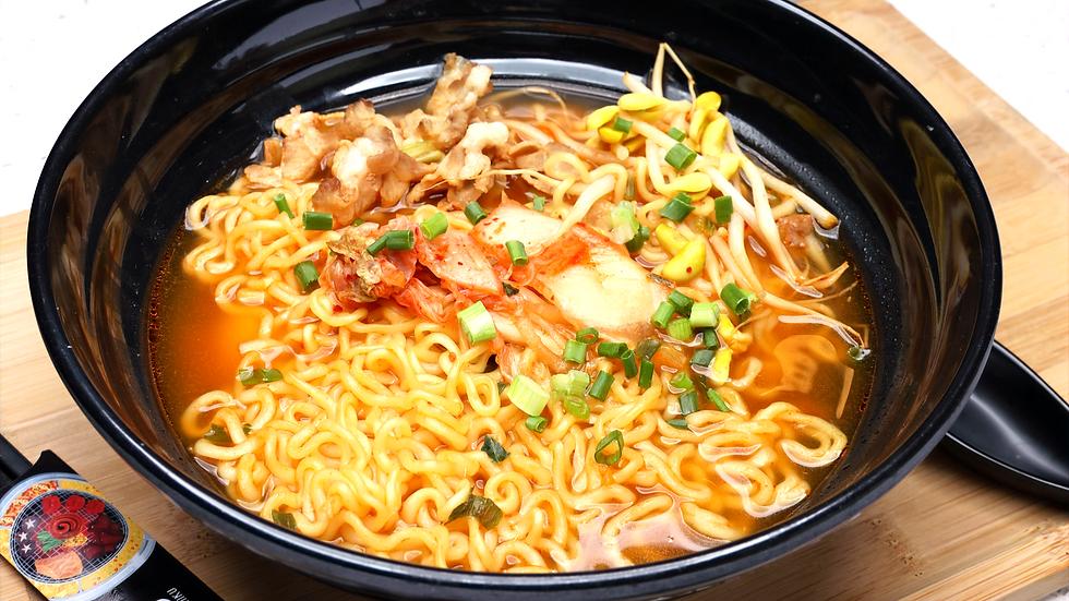 Spicy Ramen with Chicken