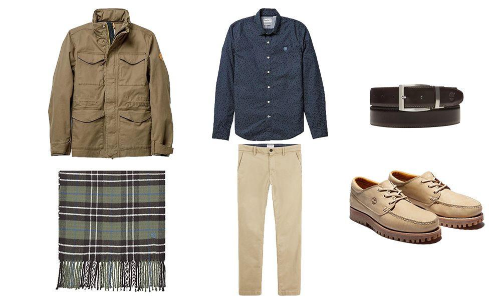 Style casual chic Timberland pour homme pour un premier rendez-vous.