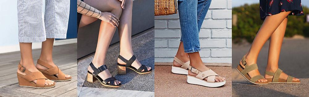 Découvrez tous nos styles de Sandales et nu-pieds pour Femme Timberland