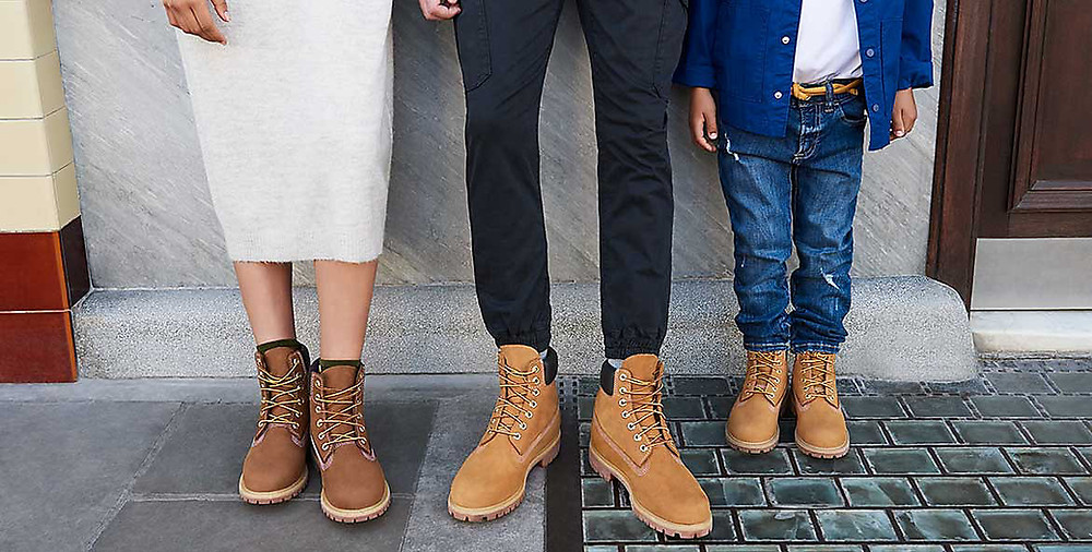 Timberland boots family