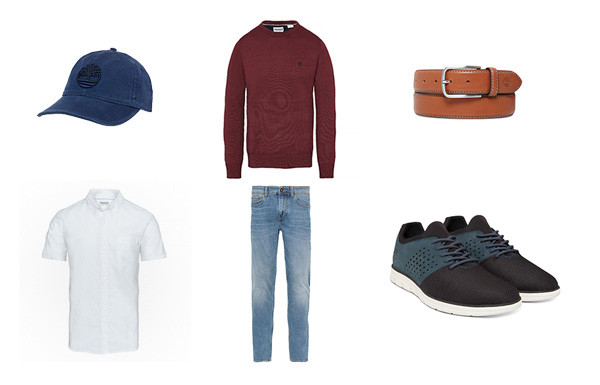 Look Homme Timberland style urbain