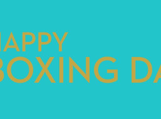 Bientôt l'heure du Timberland Boxing Day ! Prêts à en profiter ?