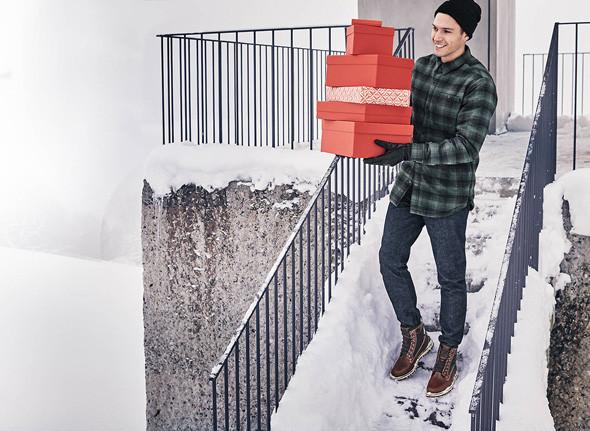 Fêtez Noël avec Timberland