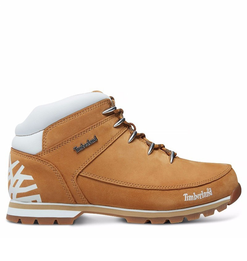 Chaussures Euro Sprint Hiker Homme - Wheat nubuck and white logo